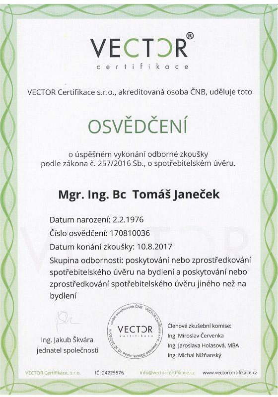 ČNB licence